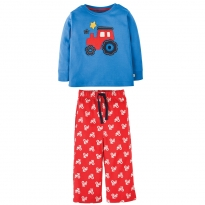 Frugi Chug Chug Little Snooze PJs
