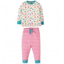 Frugi Circus Birdies Little Long John PJs