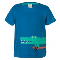 Frugi Crocodile James Applique T-Shirt