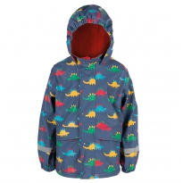Frugi Dino Trek Puddle Buster Coat