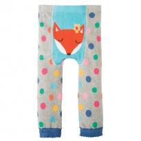 Frugi Fox Little Knitted Leggings