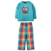 Frugi Owl Little Slumber PJs