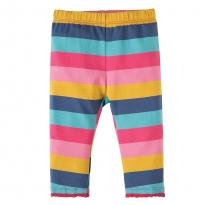 Frugi Dolly Rainbow Little Libby Leggings