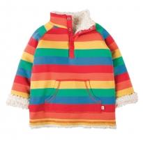 Frugi Rainbow Little Snuggle Fleece