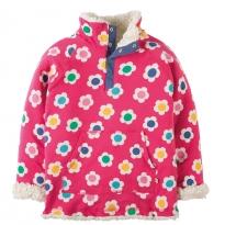 Frugi Raspberry Daisy Snuggle Fleece