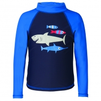 Frugi Shark Sun-Safe Rash Vest