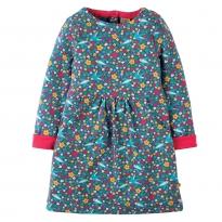 Frugi Swallow Ditsy Lulu Dress