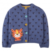 Frugi Tiger Little Betsy Cardigan