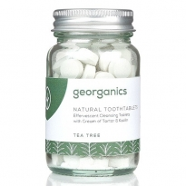 Georganics Natural Toothtablets - Tea Tree x120