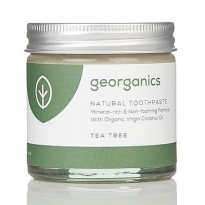 Georganics Natural Toothpaste - Tea Tree 60ml