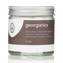 Georganics Natural Toothpowder - Pure 60ml