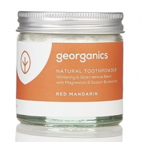 Georganics Natural Toothpowder - Red Mandarin 60ml