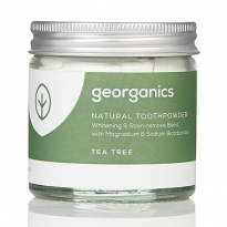 Georganics Natural Toothpowder - Tea Tree 60ml
