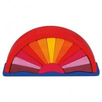 Gluckskafer Red Sunray Arch