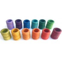Grapat Extras Rainbow Rings 12 Colours