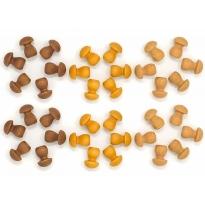 Grapat 36x Mandala Mini Mushrooms