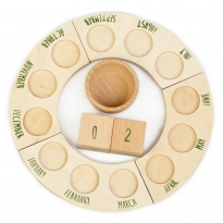 Grapat Perpetual Calendar without Nins