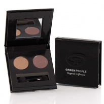 Green People Night Forest Eye Duo - Tawny Owl & Mink Brown