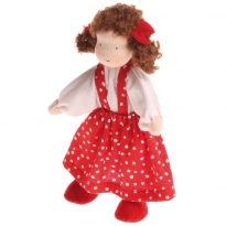 Grimm's Brown Haired Girl Doll