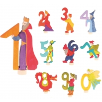Grimm's Decorative Fairy Numbers