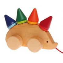 Grimm's Pull Along Hedgehog