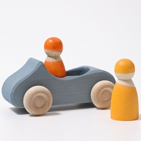 Grimm's Large Convertible Car - Blue