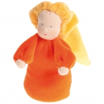 Grimm's Orange Lavender Doll