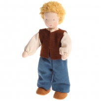 Grimm's Blond Haired Man Doll