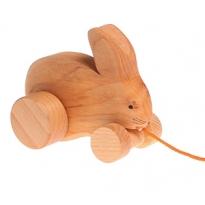 Grimm's Pull Along Bobbing Rabbit