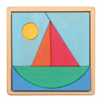 Grimm's Sailboat Puzzle