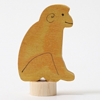 Grimm's Sitting Monkey Decorative Figure
