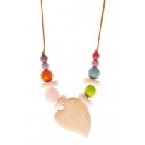 Grimm's Rose Quartz Nursing Necklace