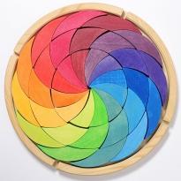 Grimm's Rainbow Colour Wheel Building Set