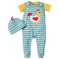 Frugi Hen Snuggle Baby Gift Set