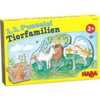 Haba One, Two, Puzzle To Do - Animal Families