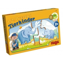 Haba One, Two, Puzzle To Do - Animal Kids