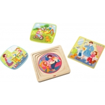 Haba Wooden Puzzle - One Day