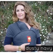 Hana Standard Baby Wrap-Dusty Navy