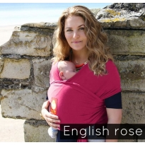 Hana Standard Baby Wrap-English Rose