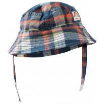 Frugi Multi Check Little Dexter Hat