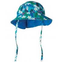 Frugi Daisy Chipmunks Reversible Ditsy Hat