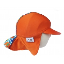 Pop-In Sun Hat Stripe Elephant