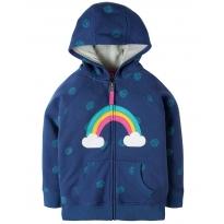 Frugi Rainbow Dorothy Hoody