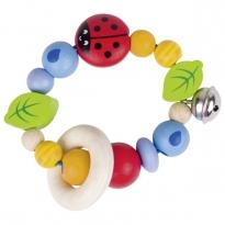 Heimess Elastic Ladybird Touch Ring