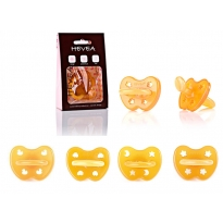 Hevea Soother Orthodontic Teat 3+ months