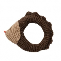Hoppa Hedgehog Crochet Rattle
