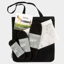 Imse Vimse Cloth Pad Starter Kit - Black