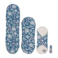 Imse Vimse Cloth Pad Starter Kit + Tampon - Garden