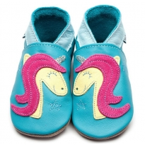 Inch Blue Pippa Pony Turquoise Shoes