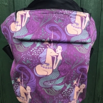 Integra Size 1 Mermaid and Unicorn Regular Strap Baby Carrier